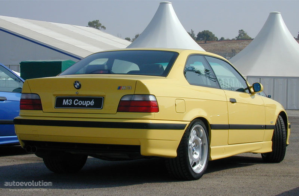 BMW M3 Coupe (E36) specs - 1992, 1993, 1994, 1995, 1996, 1997, 1998 ...