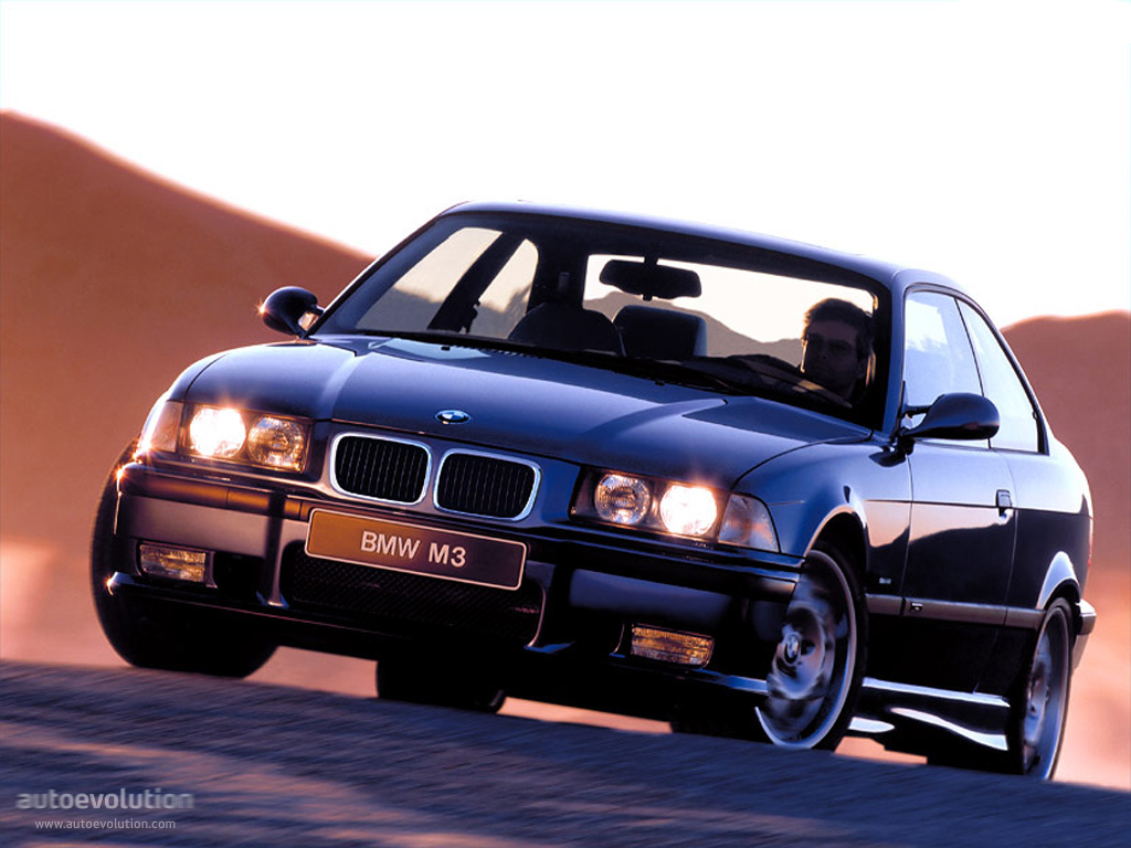 bmw m3 coupe e36 1992 1998
