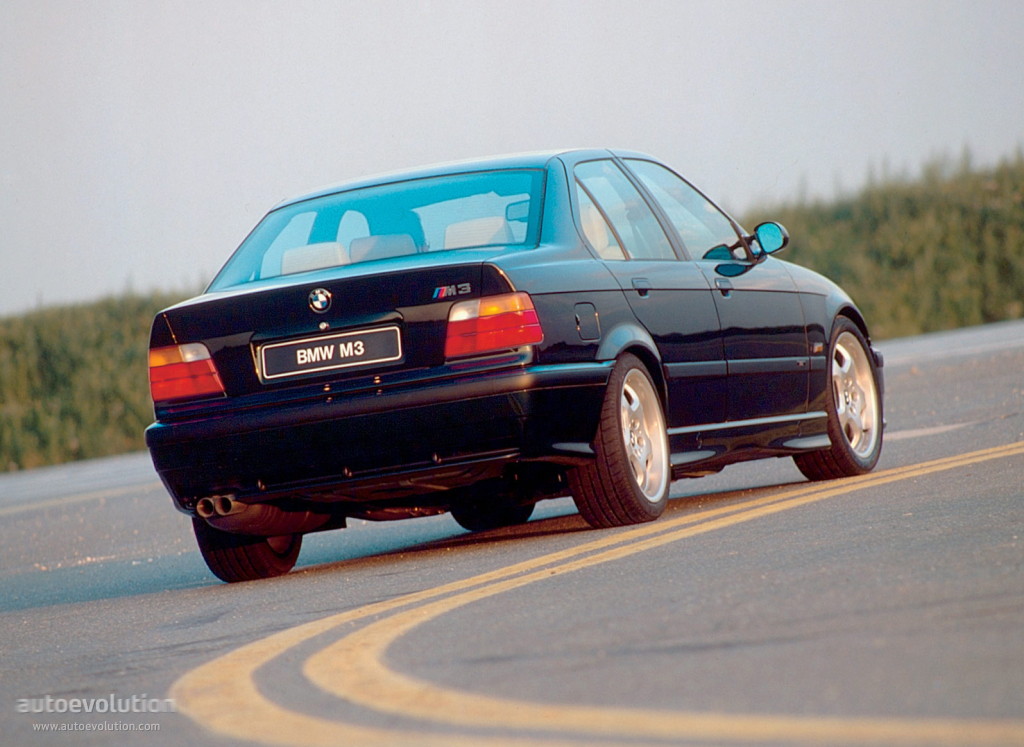 BMW M3 Sedan (E36) specs - 1994, 1995, 1996, 1997, 1998 - autoevolution