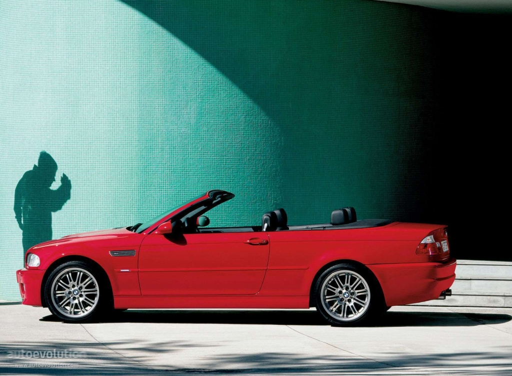 BMW M3 Cabriolet (E46) specs & photos - 2001, 2002, 2003 ...
