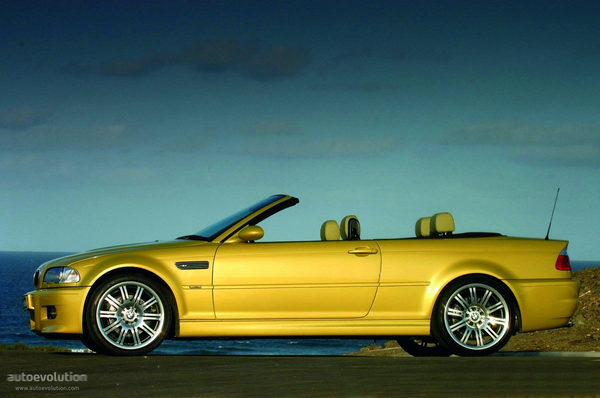 bmw m3 cabriolet e46 specs 2001 2002 2003 2004 2005 2006 2007 autoevolution. Black Bedroom Furniture Sets. Home Design Ideas