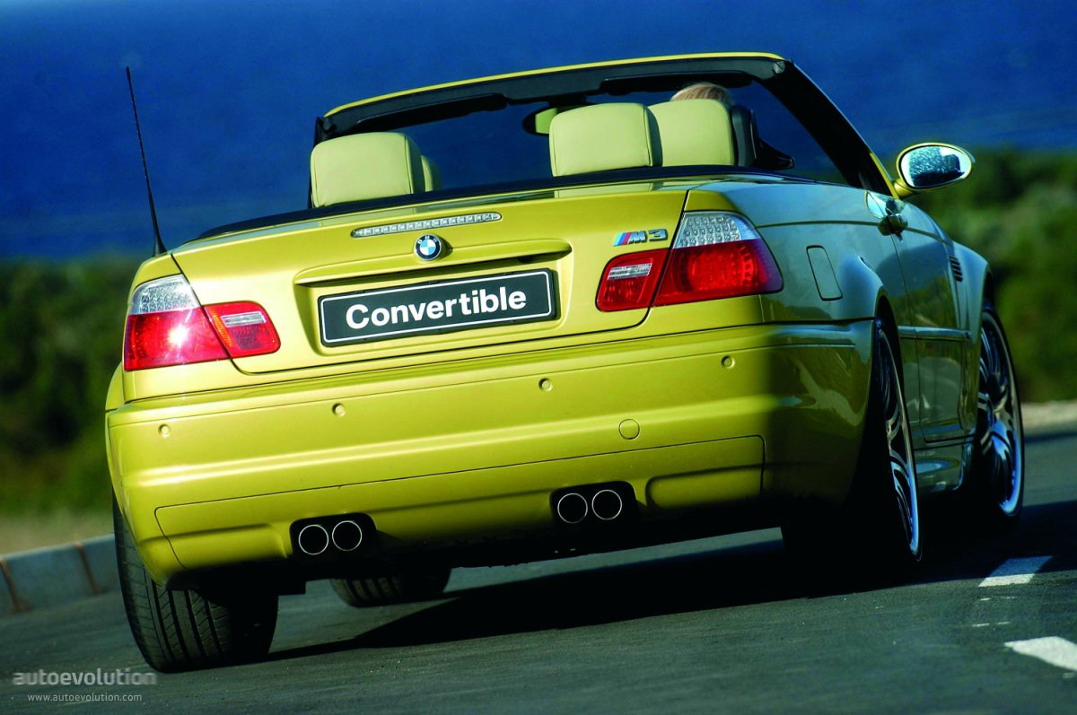 Bmw M3 Cabriolet E46 Specs Amp Photos 2001 2002 2003