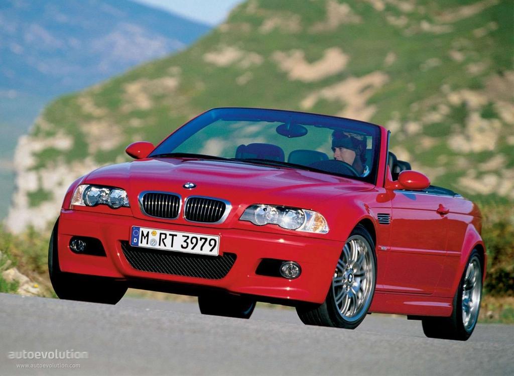 BMW M3 Cabriolet (E46) - 2001, 2002, 2003, 2004, 2005 ...