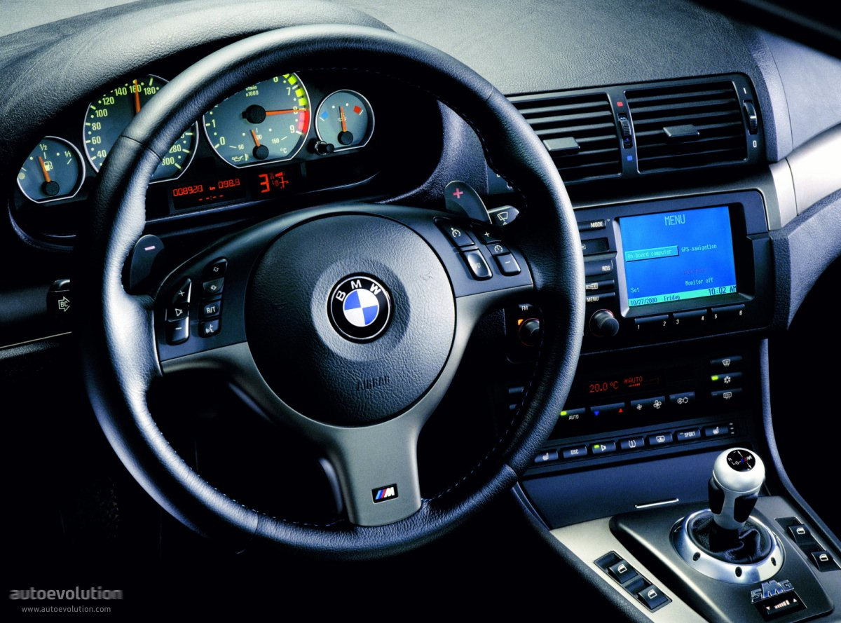 BMW M3 Coupe (E46) - 2000, 2001, 2002, 2003, 2004, 2005 ...