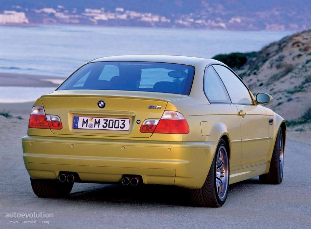 Bmw M3 Coupe E46 2000 2001 2002 2003 2004 2005
