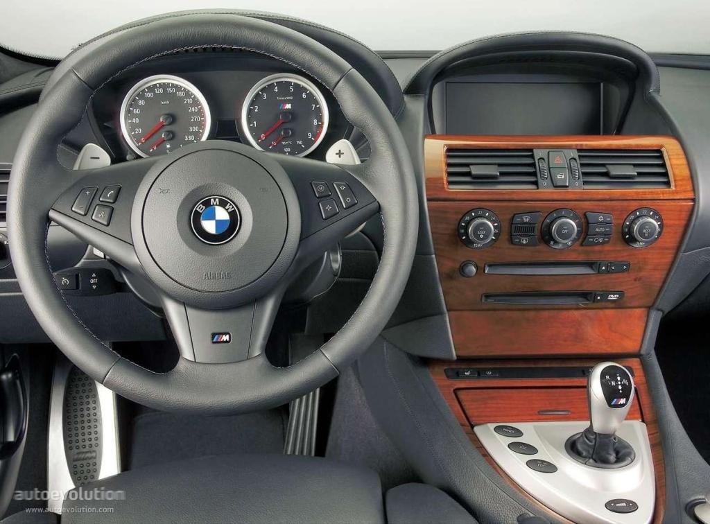 Bmw M6 Coupe E63 Specs 2005 2006 2007 2008 2009