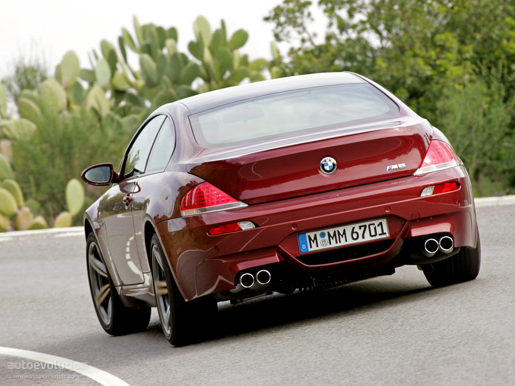 BMW M6 Coupe (E63) specs - 2005, 2006, 2007, 2008, 2009, 2010 ...