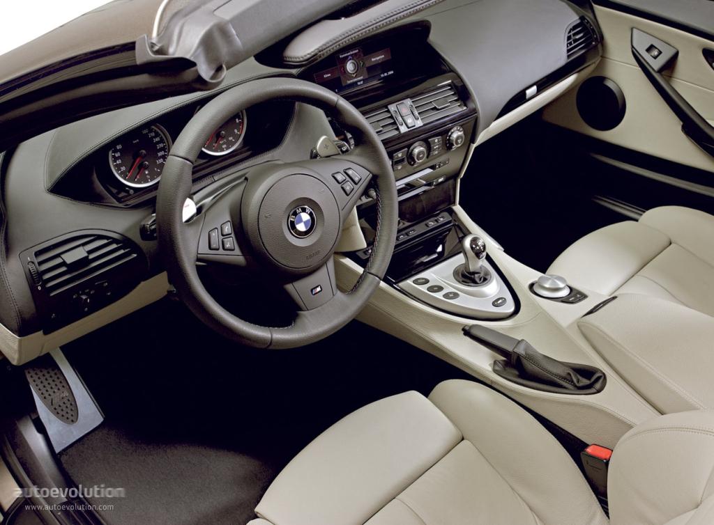 Bmw M6 Cabrio E64 Specs 2006 2007 2008 2009 2010