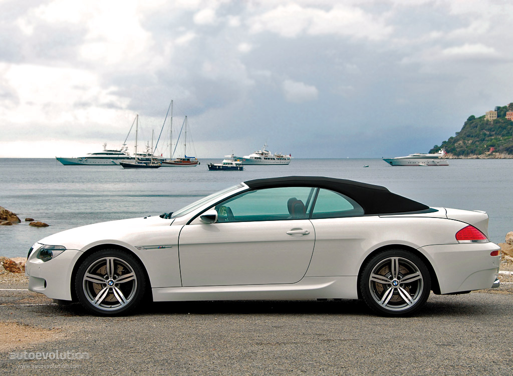 bmw m6 cabrio e64 specs 2006 2007 2008 2009 2010. Black Bedroom Furniture Sets. Home Design Ideas