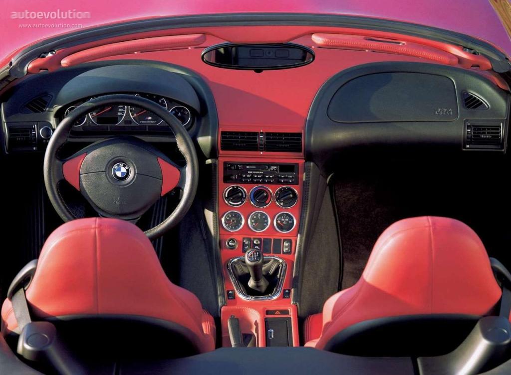BMW M Roadster E36 specs  1997 1998 1999 2000 2001 2002