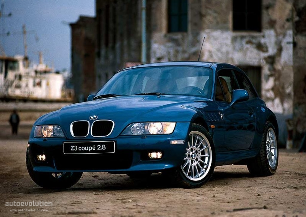 Bmw Z3 Coupe E36 1998 1999 2000 2001 2002