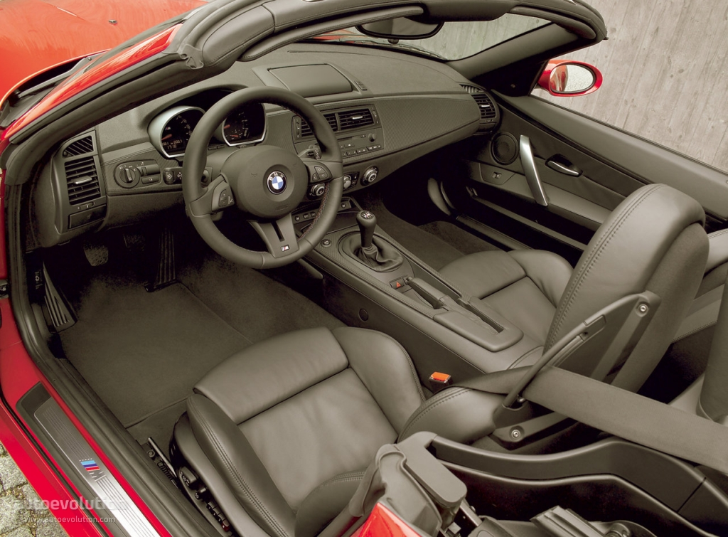 Bmw z4 m roadster e85 specs 2006 2007 2008 2009 for Auto interieur tuning