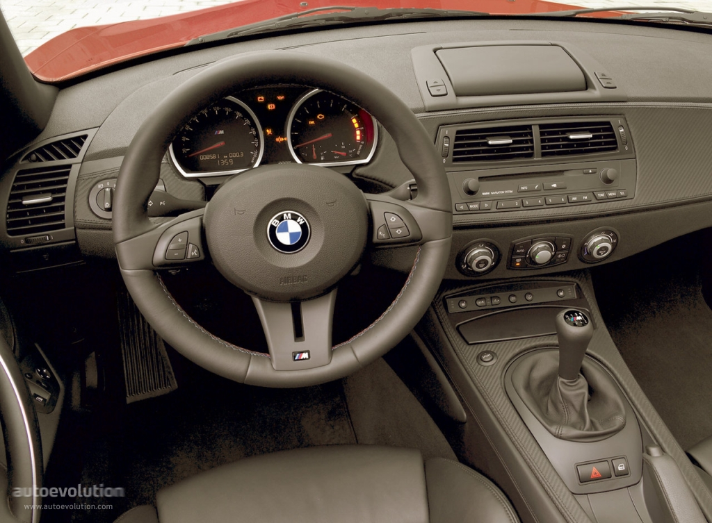 Bmw z4 m roadster e85 specs 2006 2007 2008 2009 for Interieur z4 e85