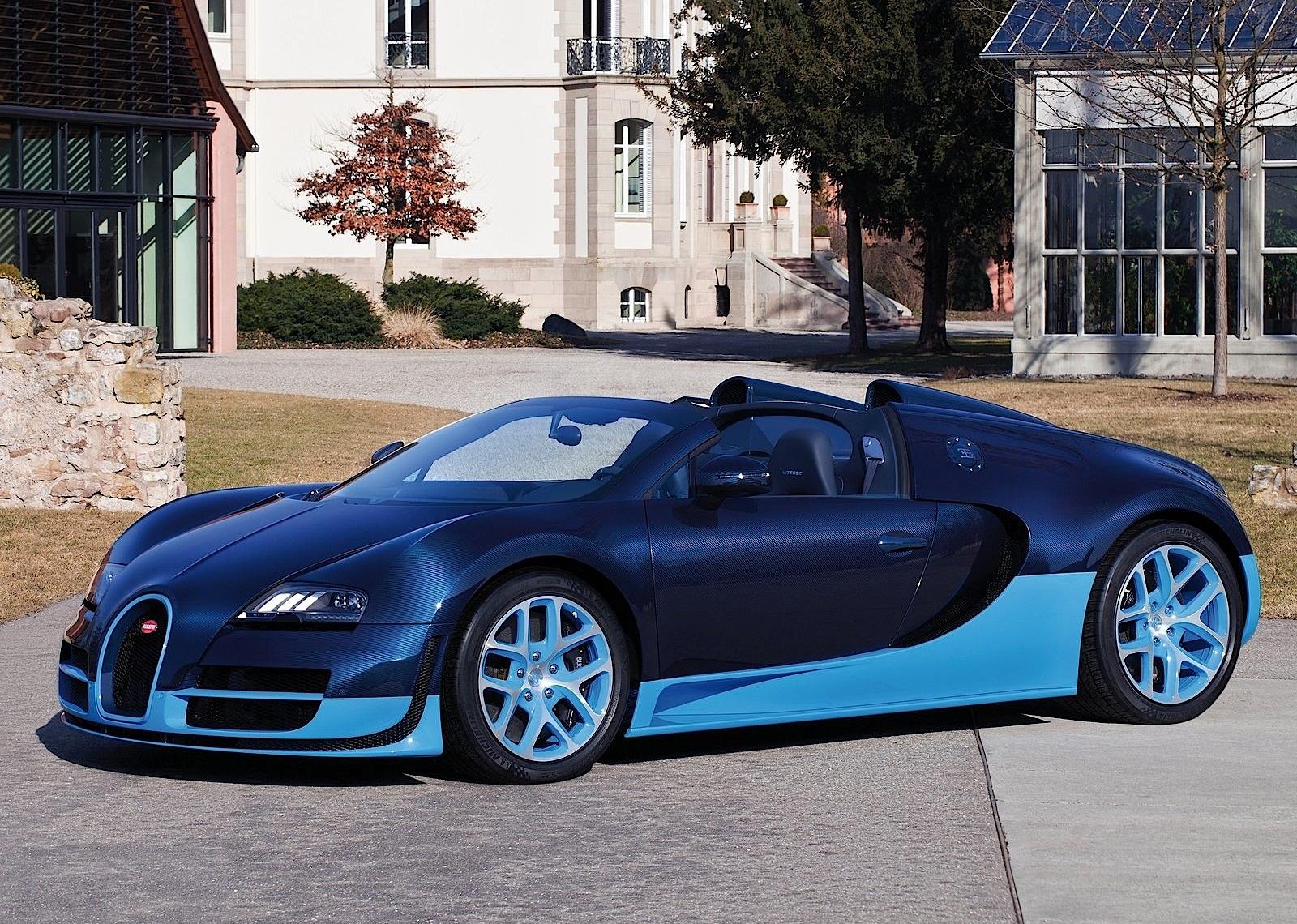 Bugatti Veyron Grand Sport Vitesse Specs Photos 2012 2013 2014