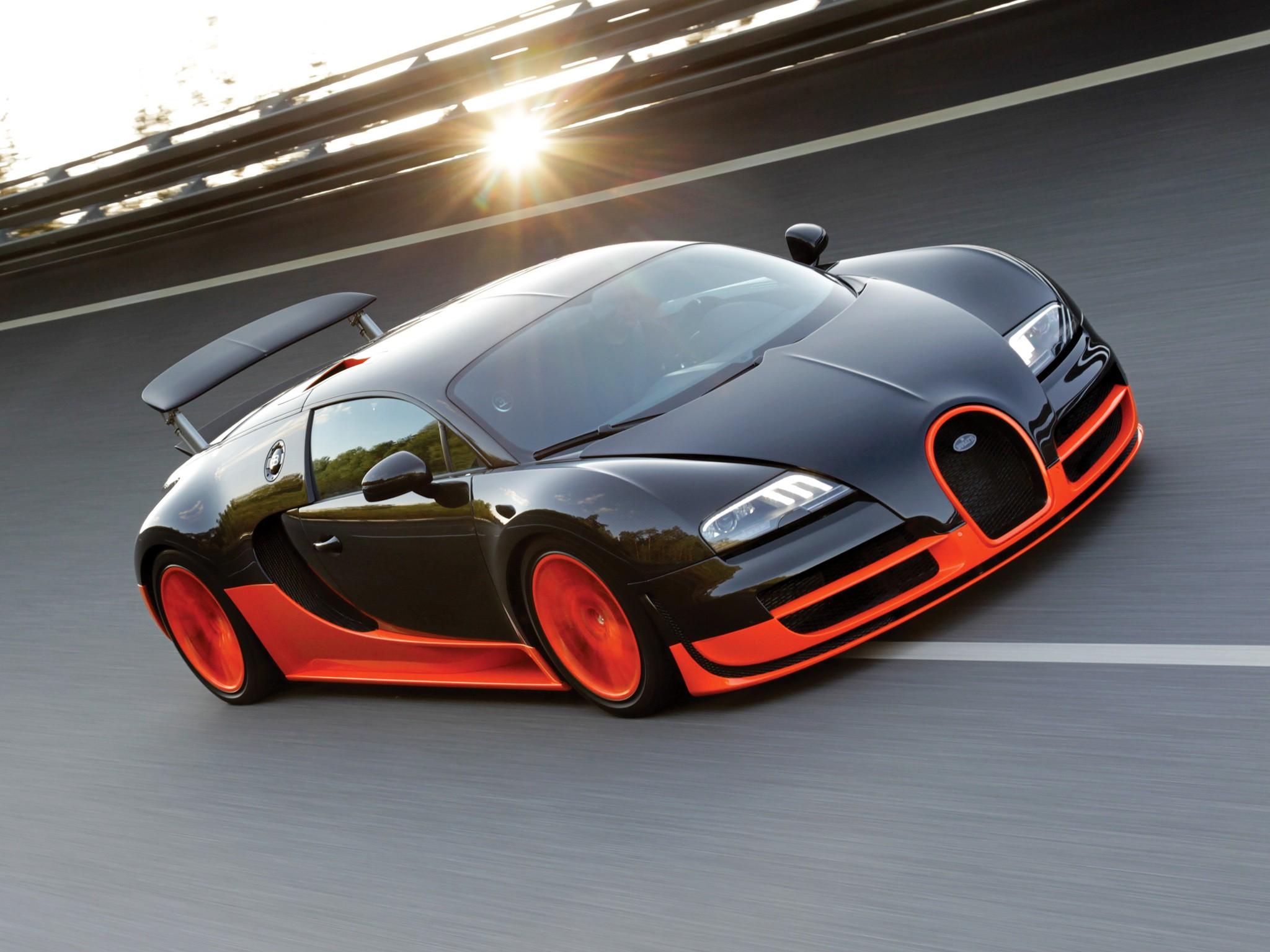 BUGATTI Veyron Super Sport specs  2010 2011  autoevolution