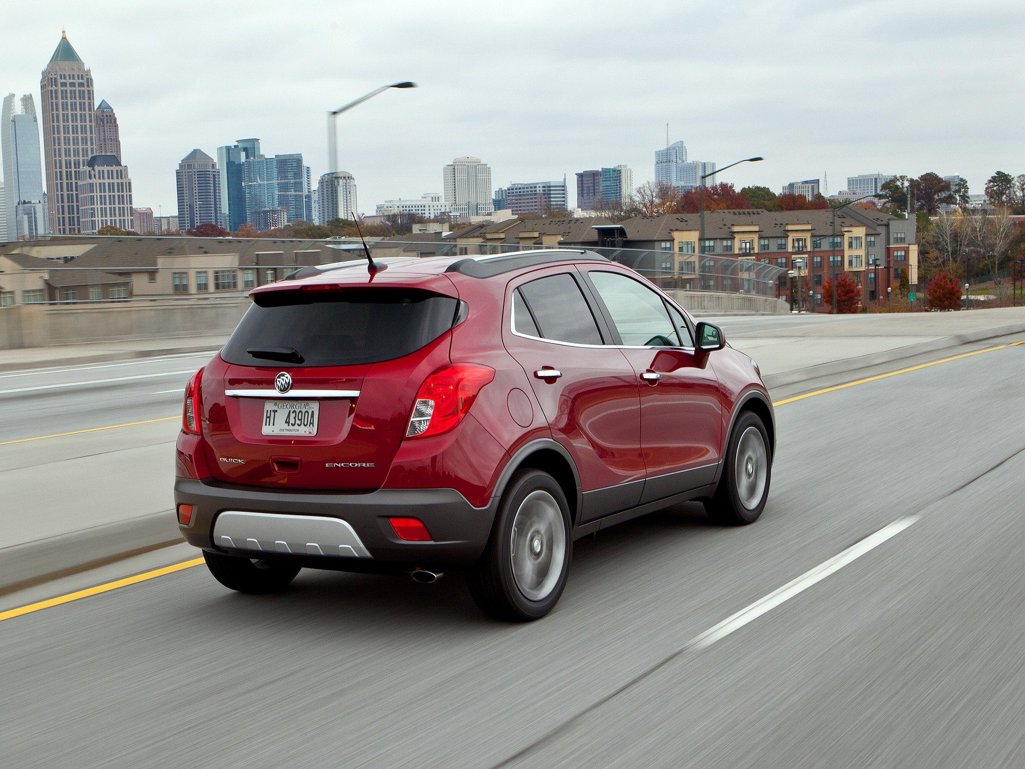 Red Buick Encore 2013 Images & Pictures - Becuo