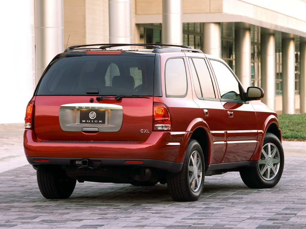 BUICK Rainier specs & photos - 2003, 2004, 2005, 2006 ...