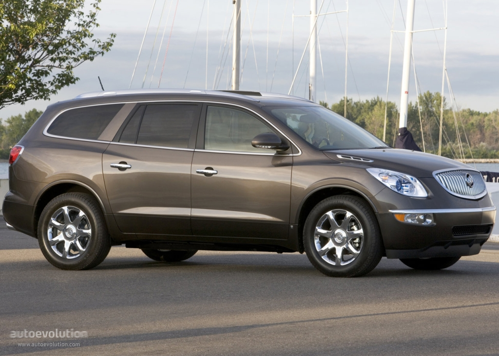 Buick Enclave 2007 on 2010 gmc acadia