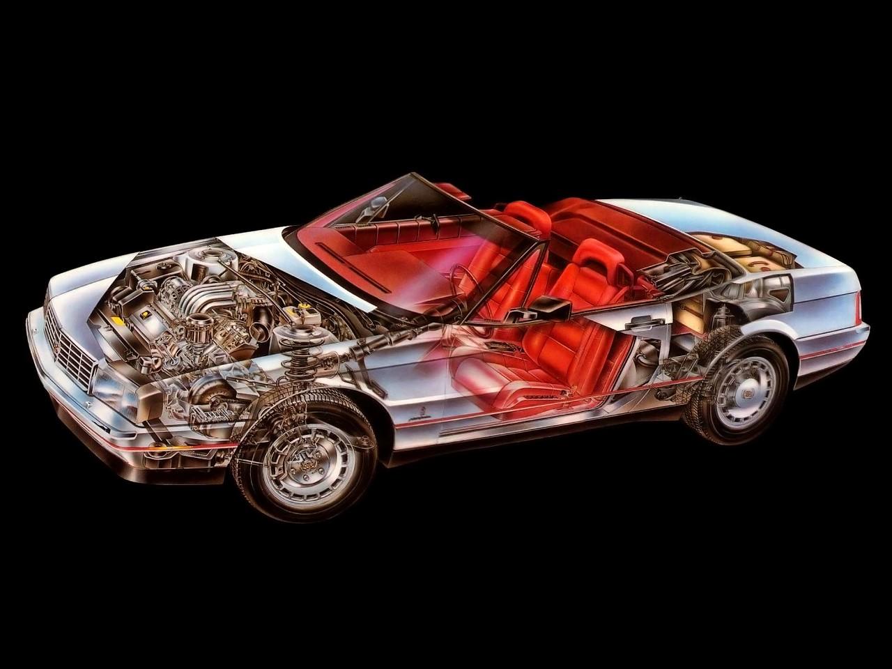 CADILLAC Allante specs & photos - 1987, 1988, 1989, 1990 ...