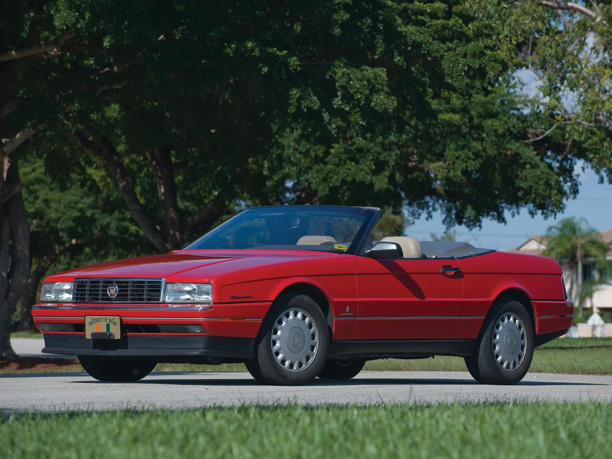 Cadillac Allante Specs 1987 1988 1989 1990 1991 1992 1993 Autoevolution