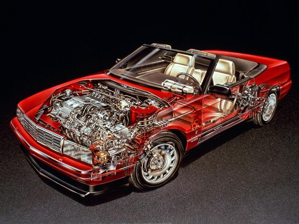 Cadillac Allante on Cadillac V8 Engine