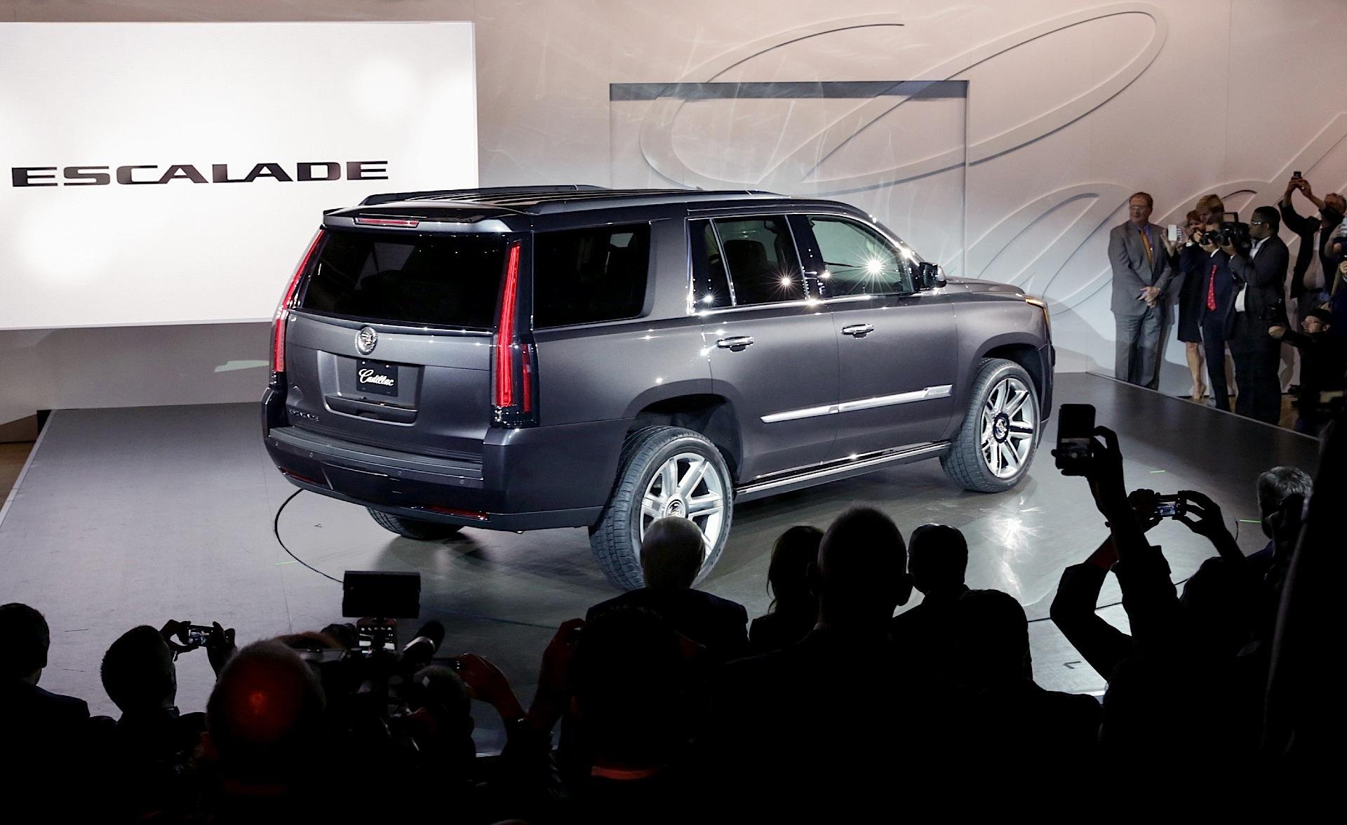 CADILLAC Escalade specs 2014 2015 2016 2017 2018 autoevolution