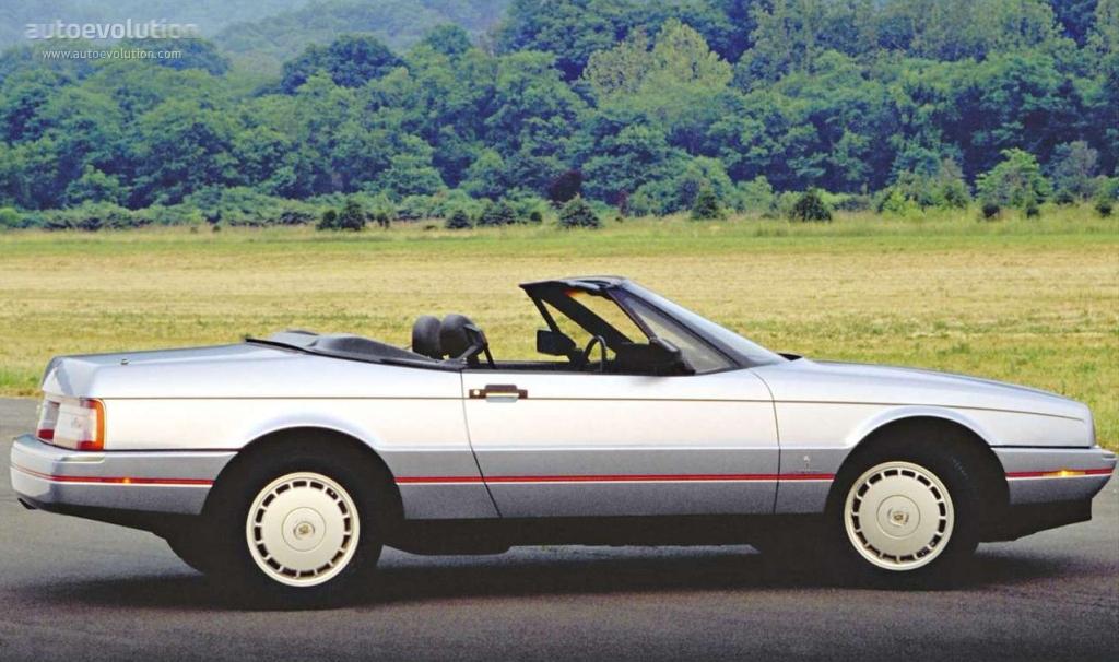 Cadillac Allante Specs 1987 1988 1989 1990 1991