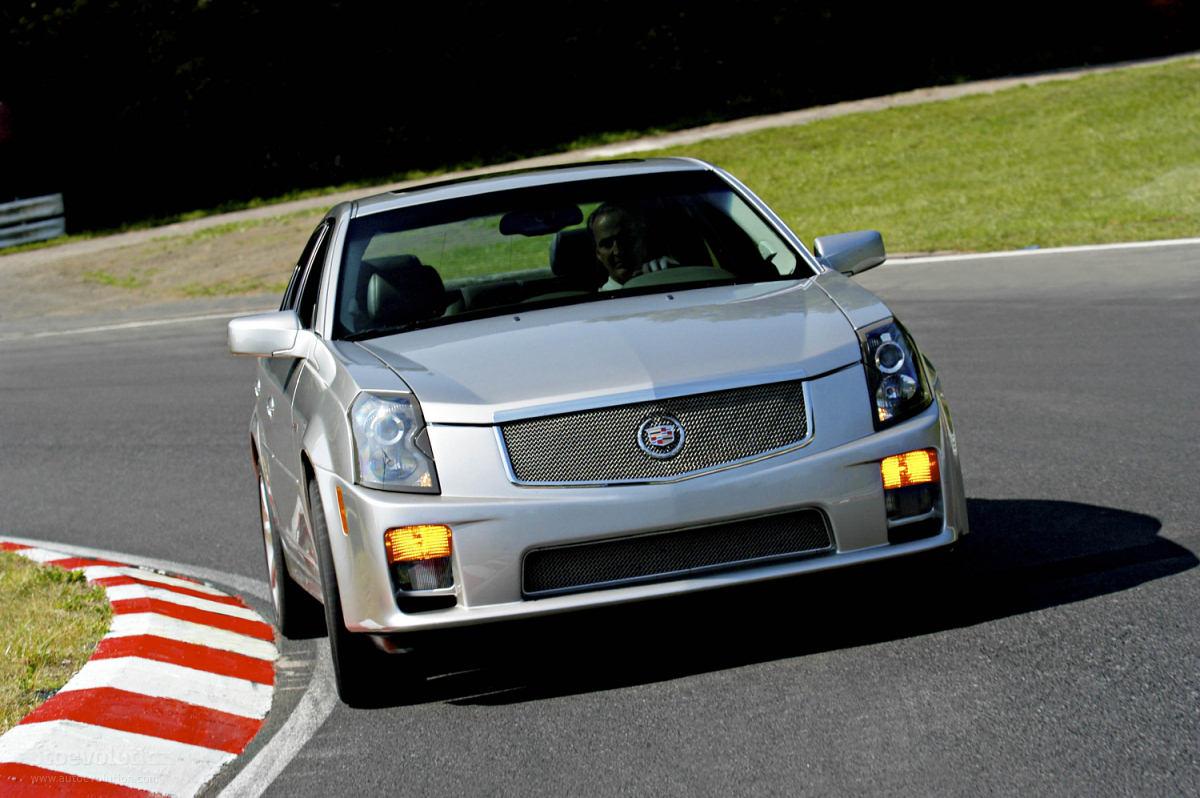 CADILLAC CTSV specs  2003 2004 2005 2006 2007  autoevolution