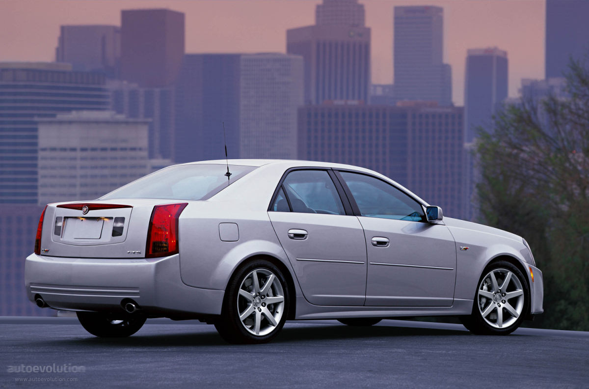 Cadillacctsv Series on 2005 Sts V8 Engine