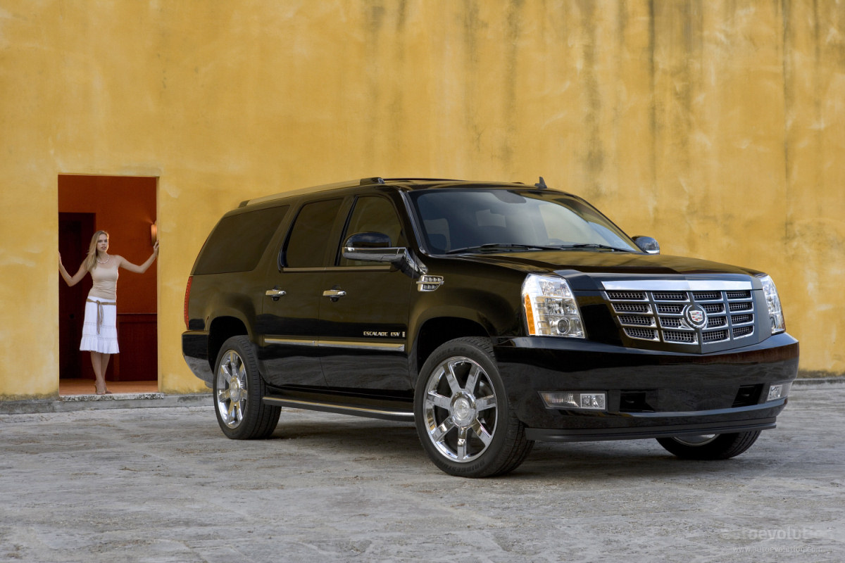 cadillac escalade esv specs 2006 2007 2008 2009 2010. Black Bedroom Furniture Sets. Home Design Ideas