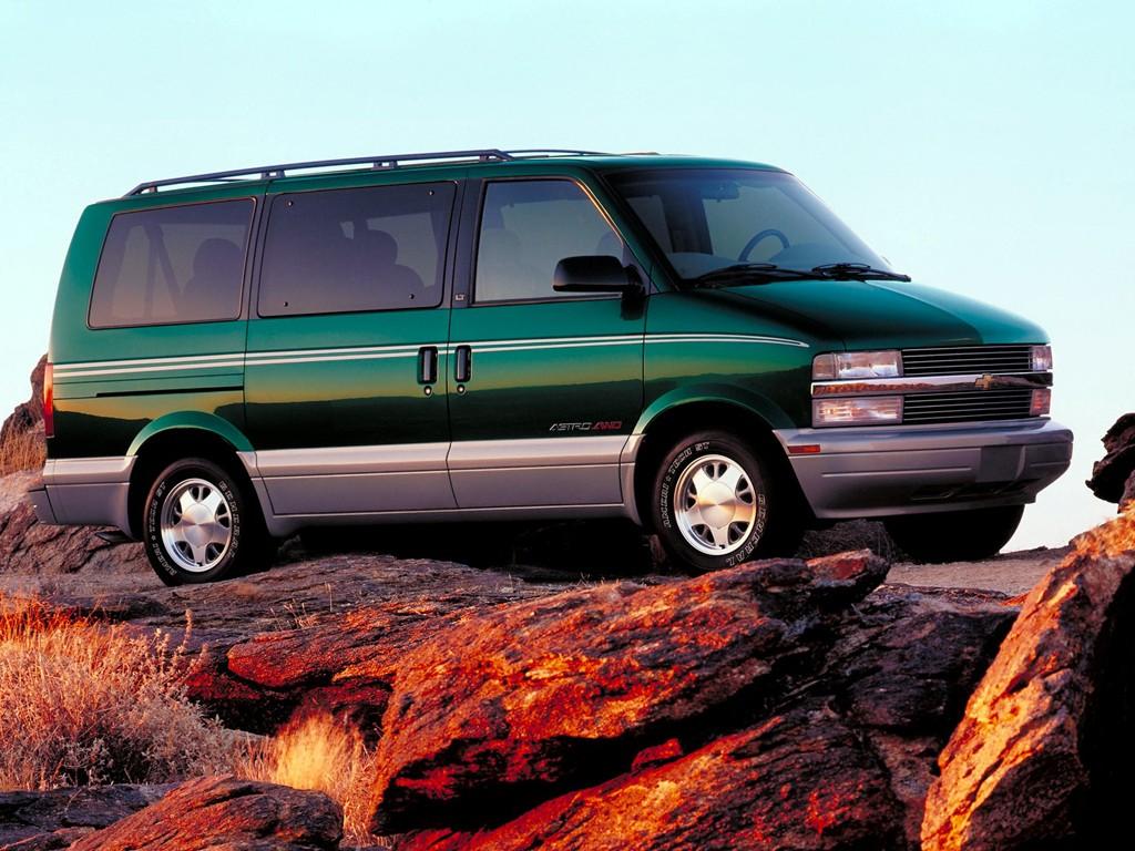 Chevrolet Astro on 1997 Dodge Van