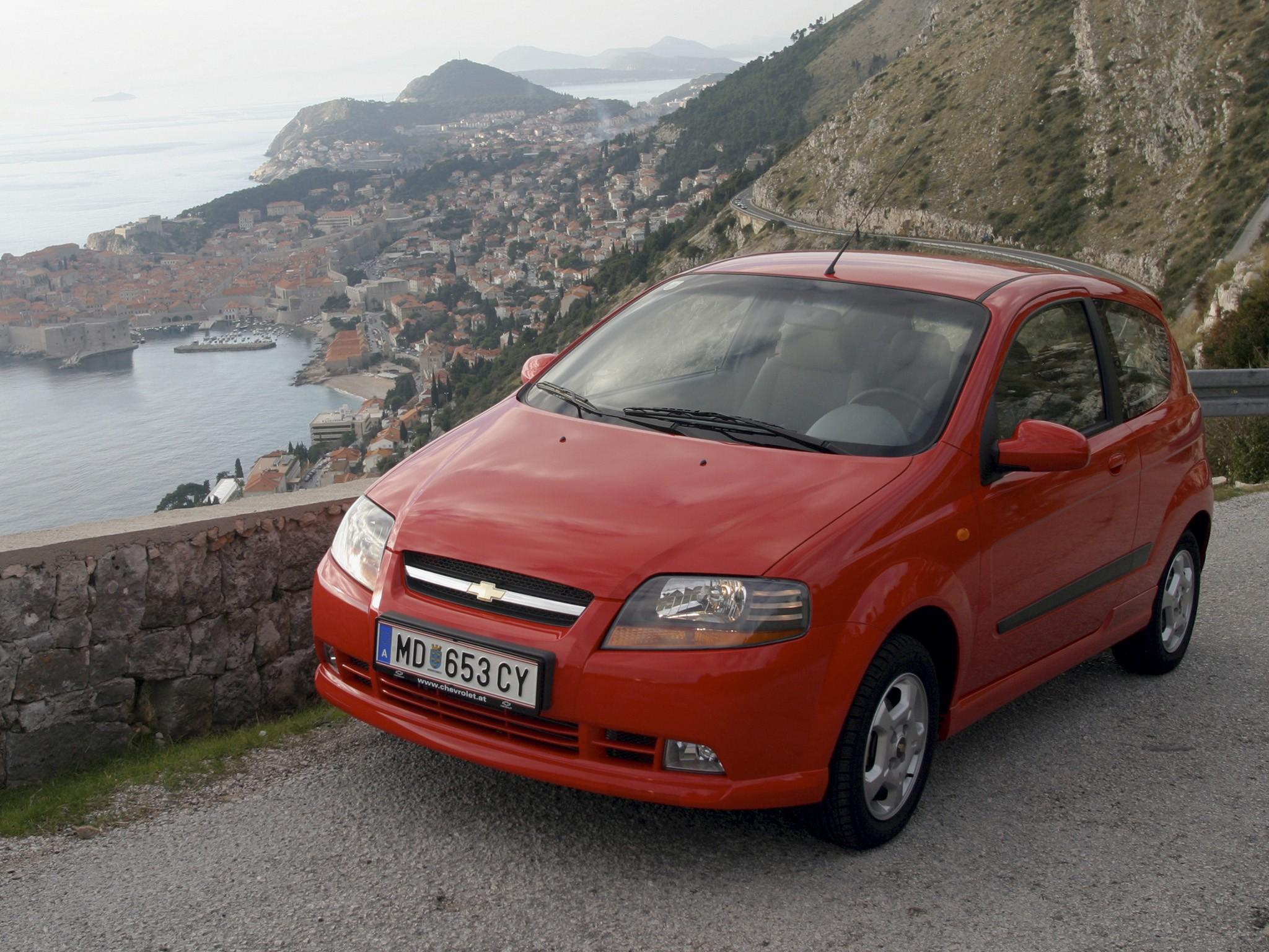 Chevrolet Aveo Kalos Doors