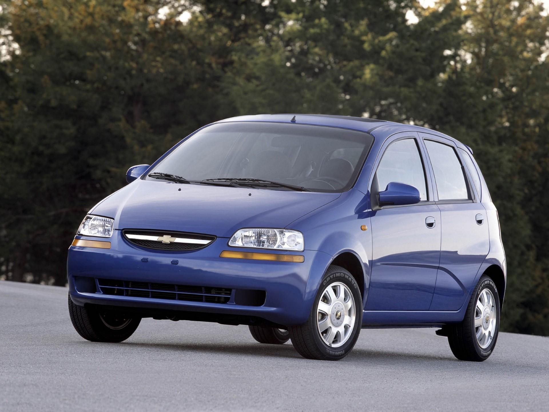 Chevrolet Aveo Kalos 5 Doors 2002 2003 2004 2005 2006 2007 Autoevolution