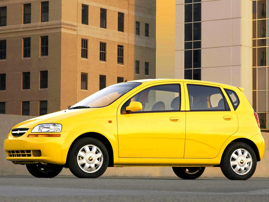CHEVROLET Aveo/Kalos 5 doors specs & photos - 2002, 2003 ...