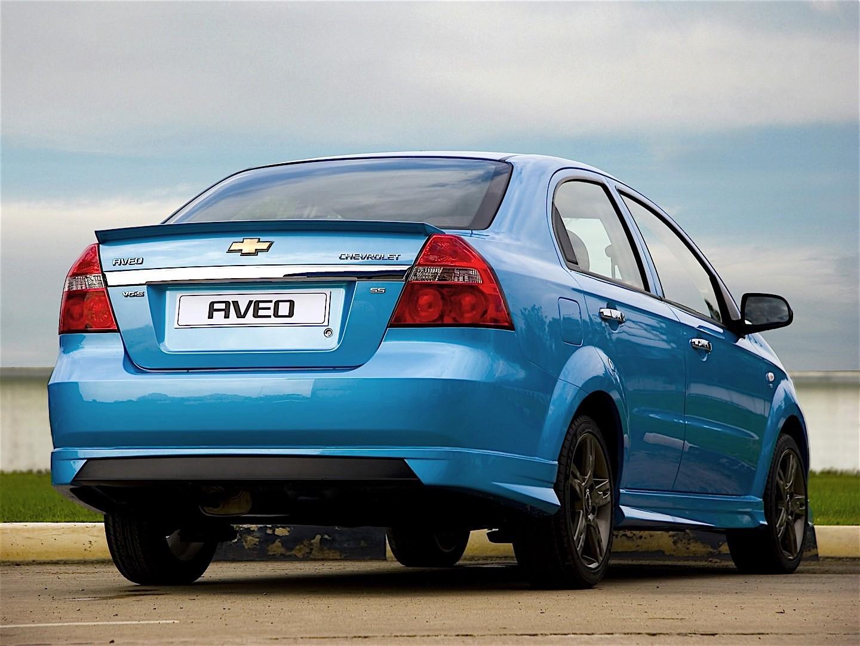 CHEVROLET Aveo/Kalos Sedan - 2005, 2006, 2007, 2008, 2009 ...