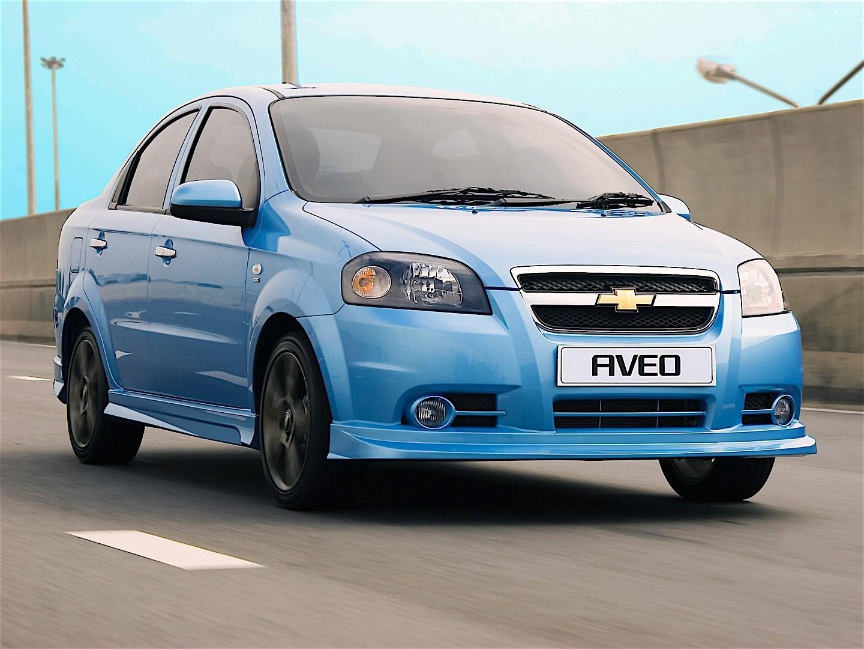 Chevrolet Aveo Kalos Sedan 2005 2006 2007 2008 2009