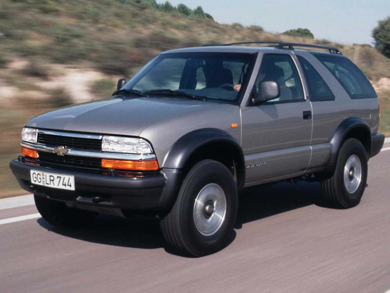 Blazer chevy blazer 2001 : CHEVROLET Blazer 3 doors specs - 1995, 1996, 1997, 1998, 1999 ...