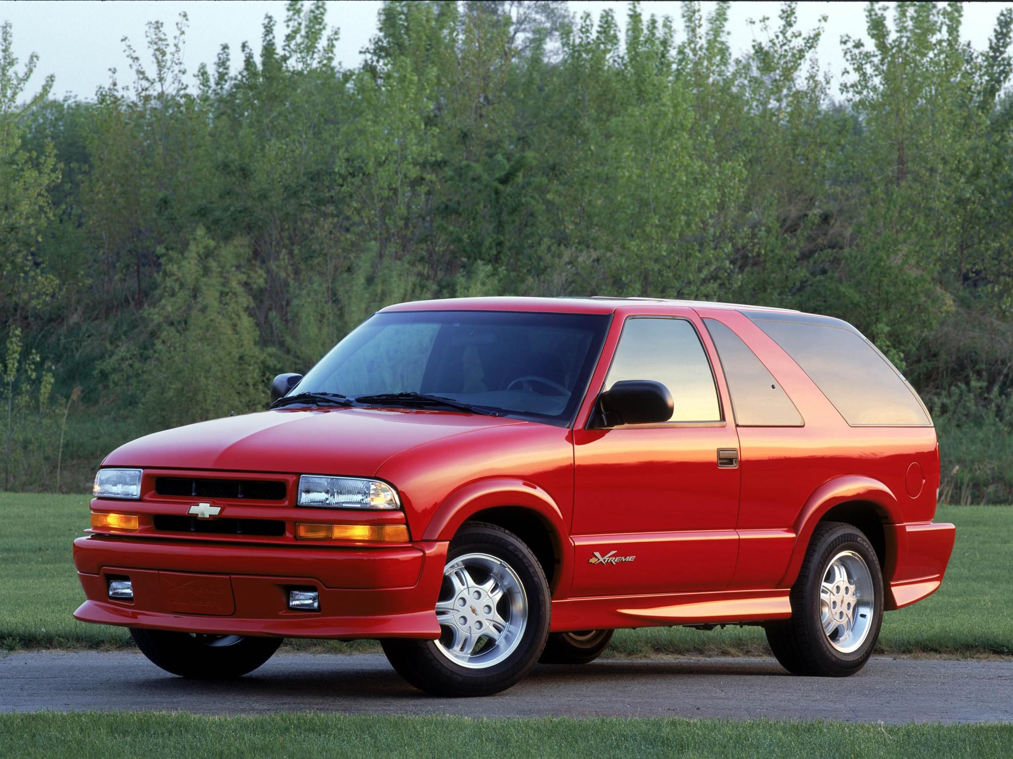 Chevrolet Blazer Doors on 2000 Chevrolet Blazer