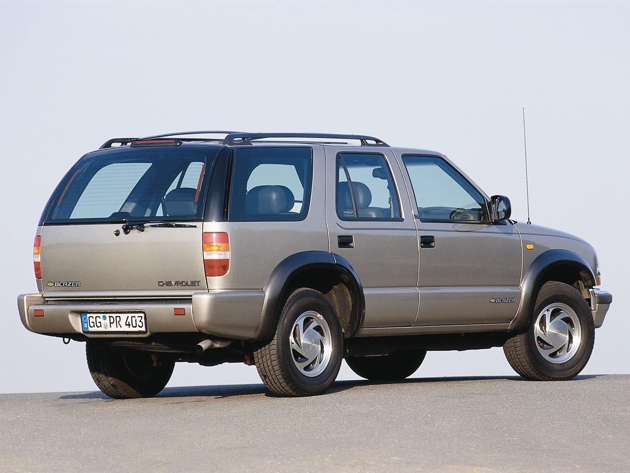 CHEVROLET Blazer 5 doors - 1995, 1996, 1997, 1998, 1999 ...