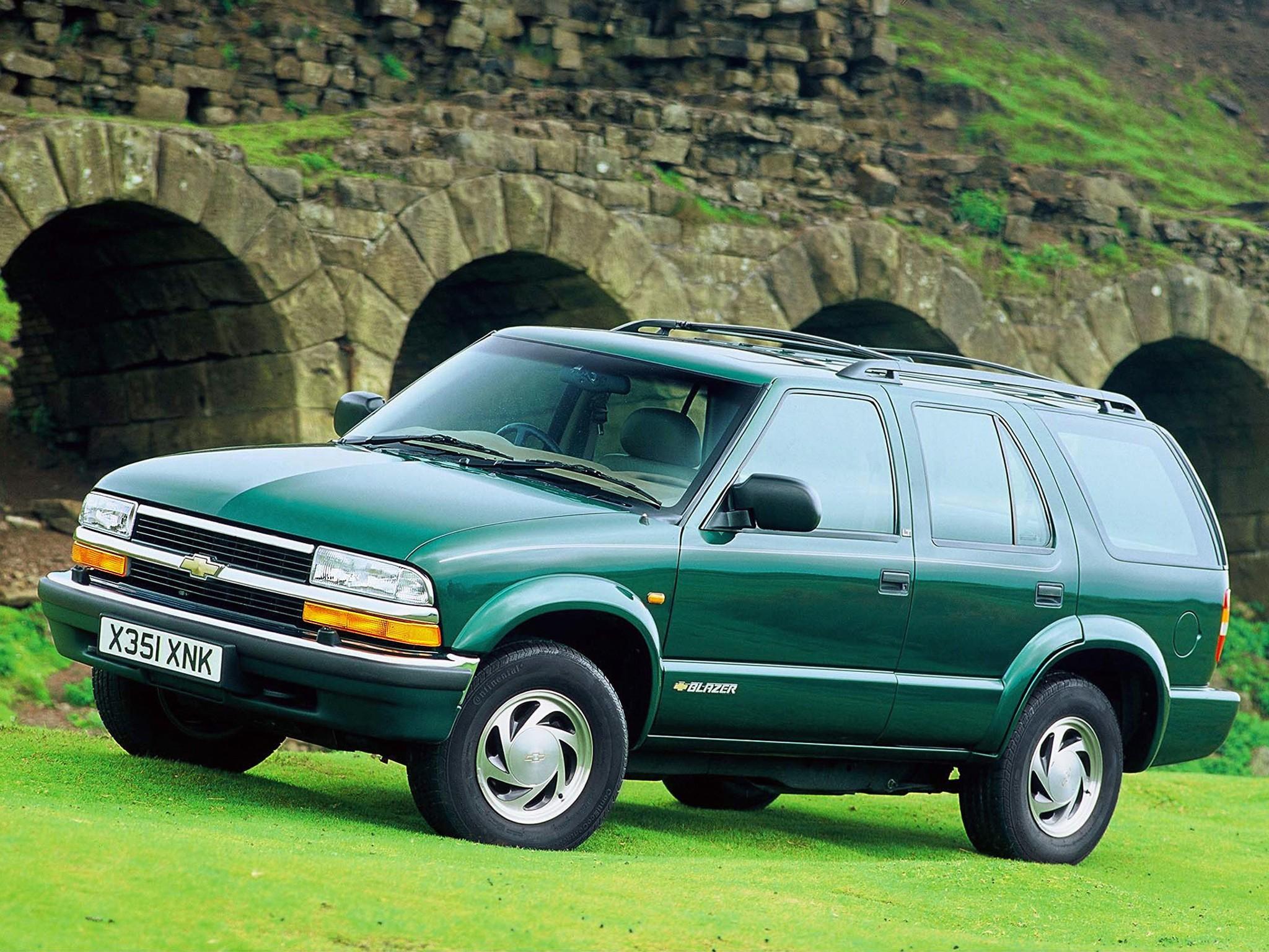 CHEVROLET Blazer 5 doors specs - 1995, 1996, 1997, 1998 ...