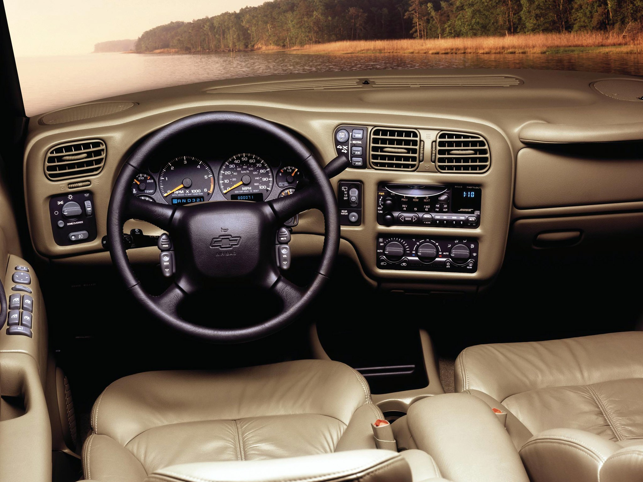 CHEVROLET Blazer 5 doors specs & photos - 1995, 1996, 1997 ...