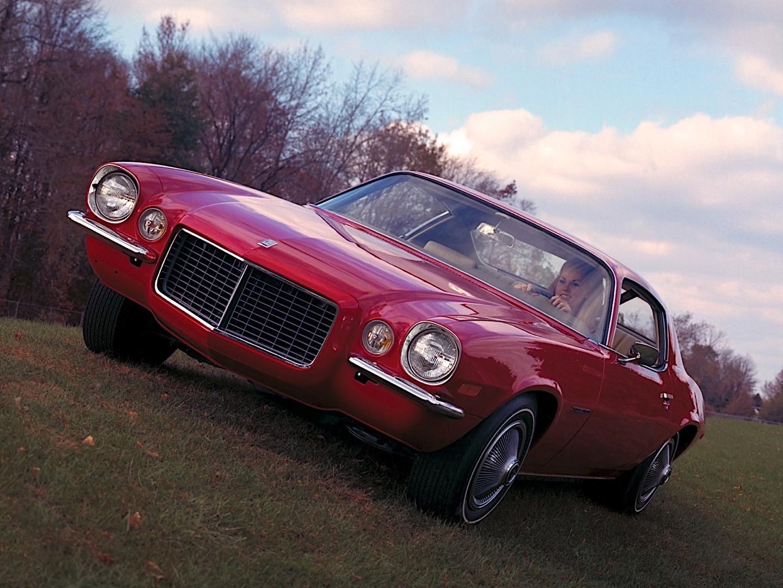 CHEVROLET Camaro specs & photos - 1970, 1971, 1972, 1973