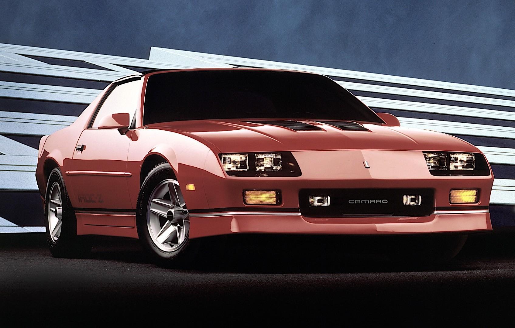 camaro chevrolet 1982 1992 autoevolution 1988 1989 1990 1985 1983 1984 1986 1987 1991 specs