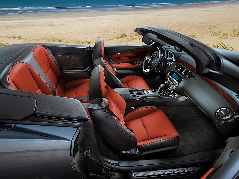 CHEVROLET Camaro Convertible specs & photos - 2013, 2014 ...
