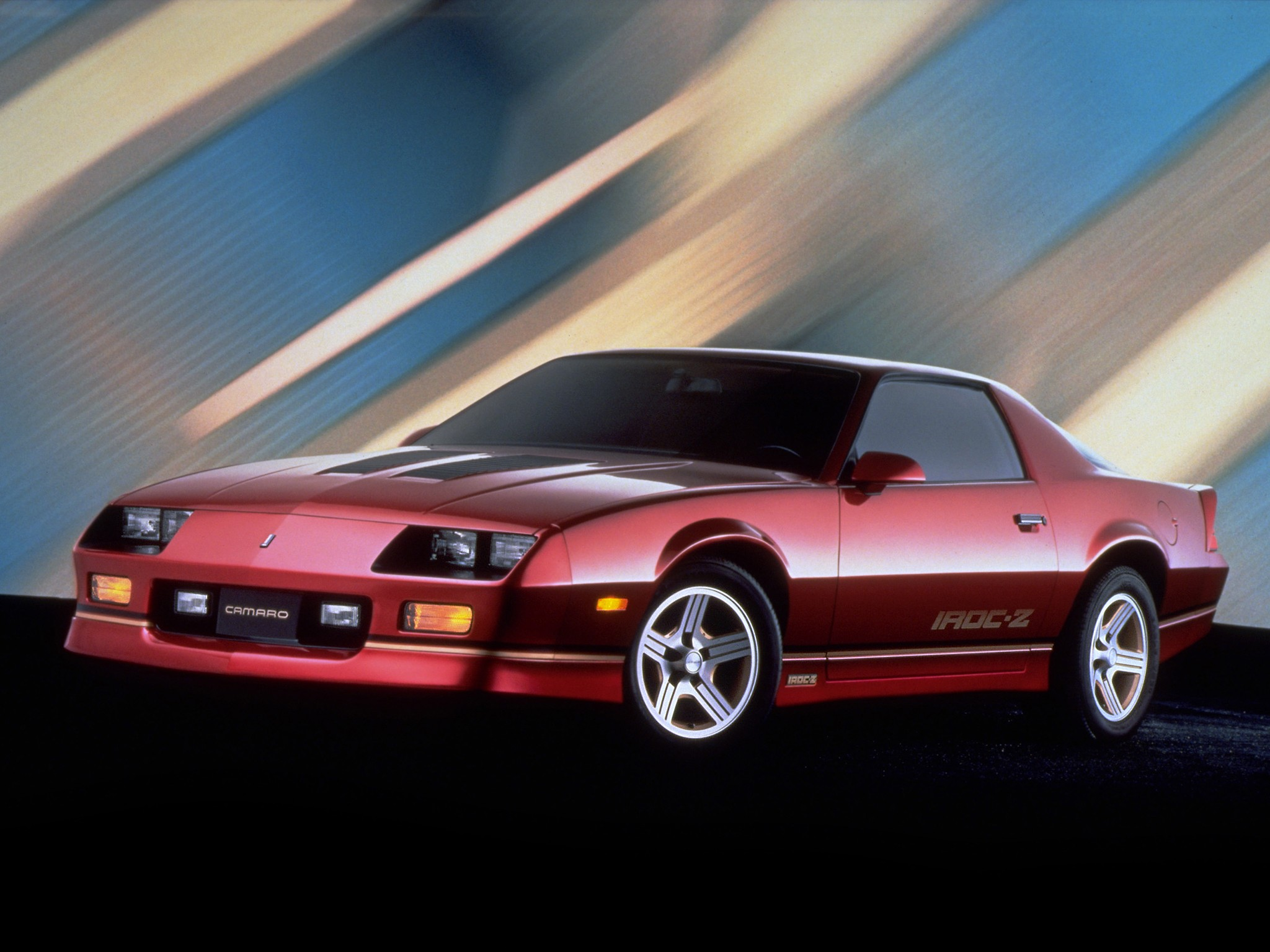CHEVROLET Camaro IROC-Z28 specs & photos - 1984, 1985 ...