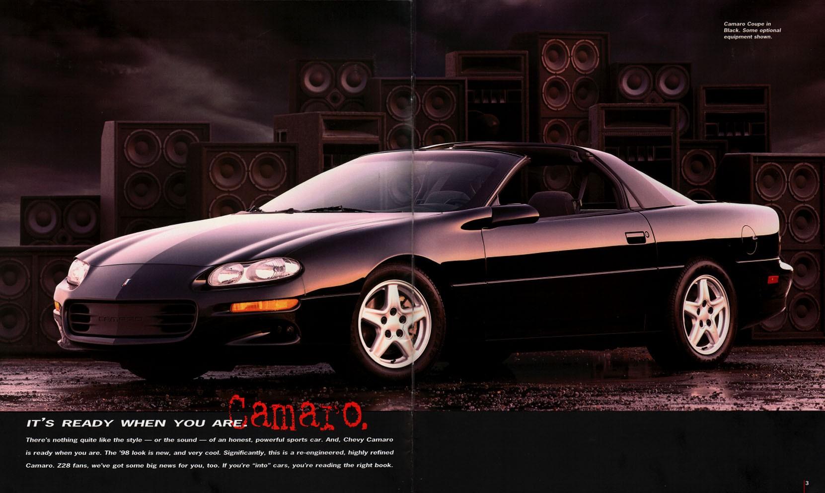 Chevrolet Camaro Super Sport Convertible Specs 1997