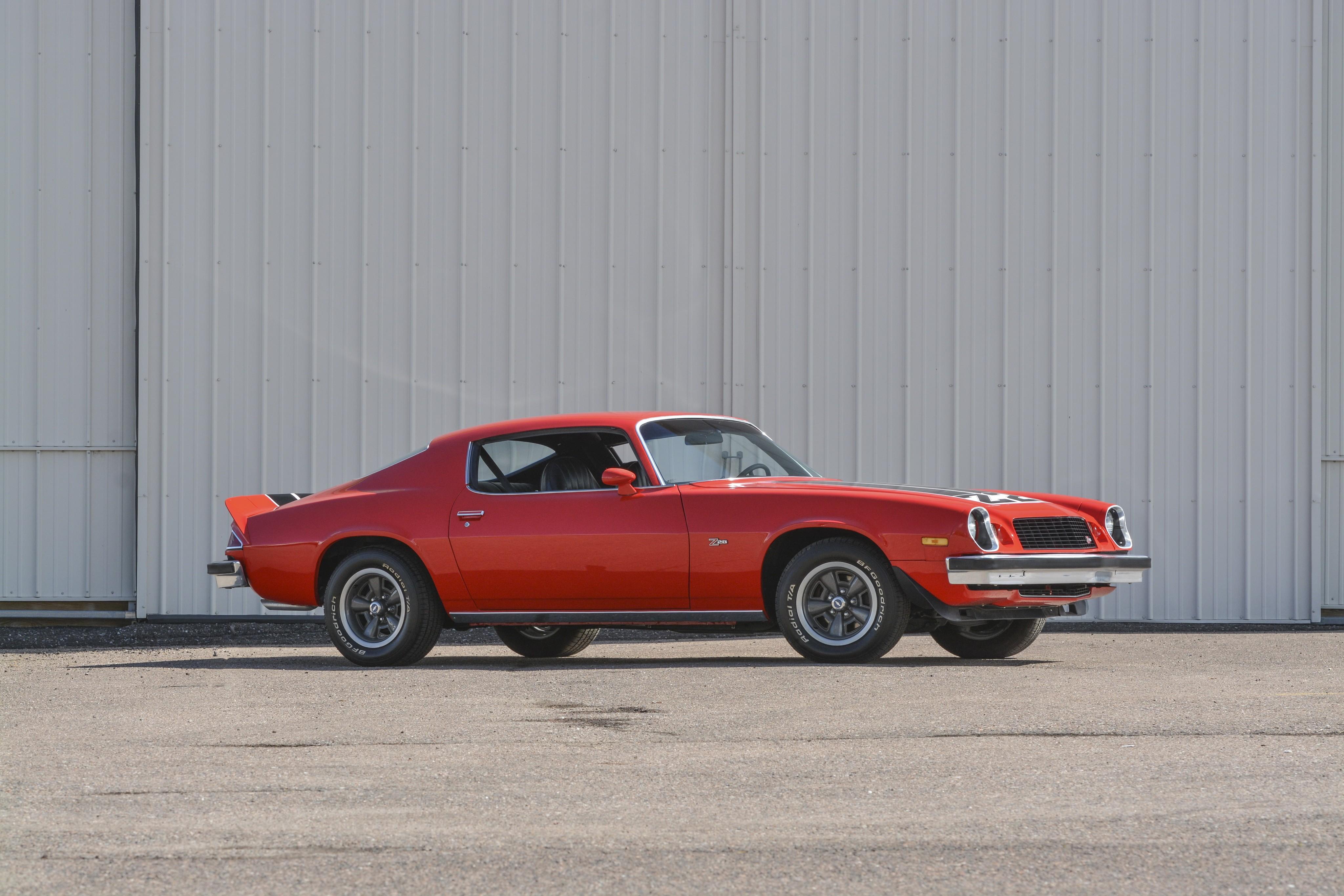 1974 camaro z28 specs