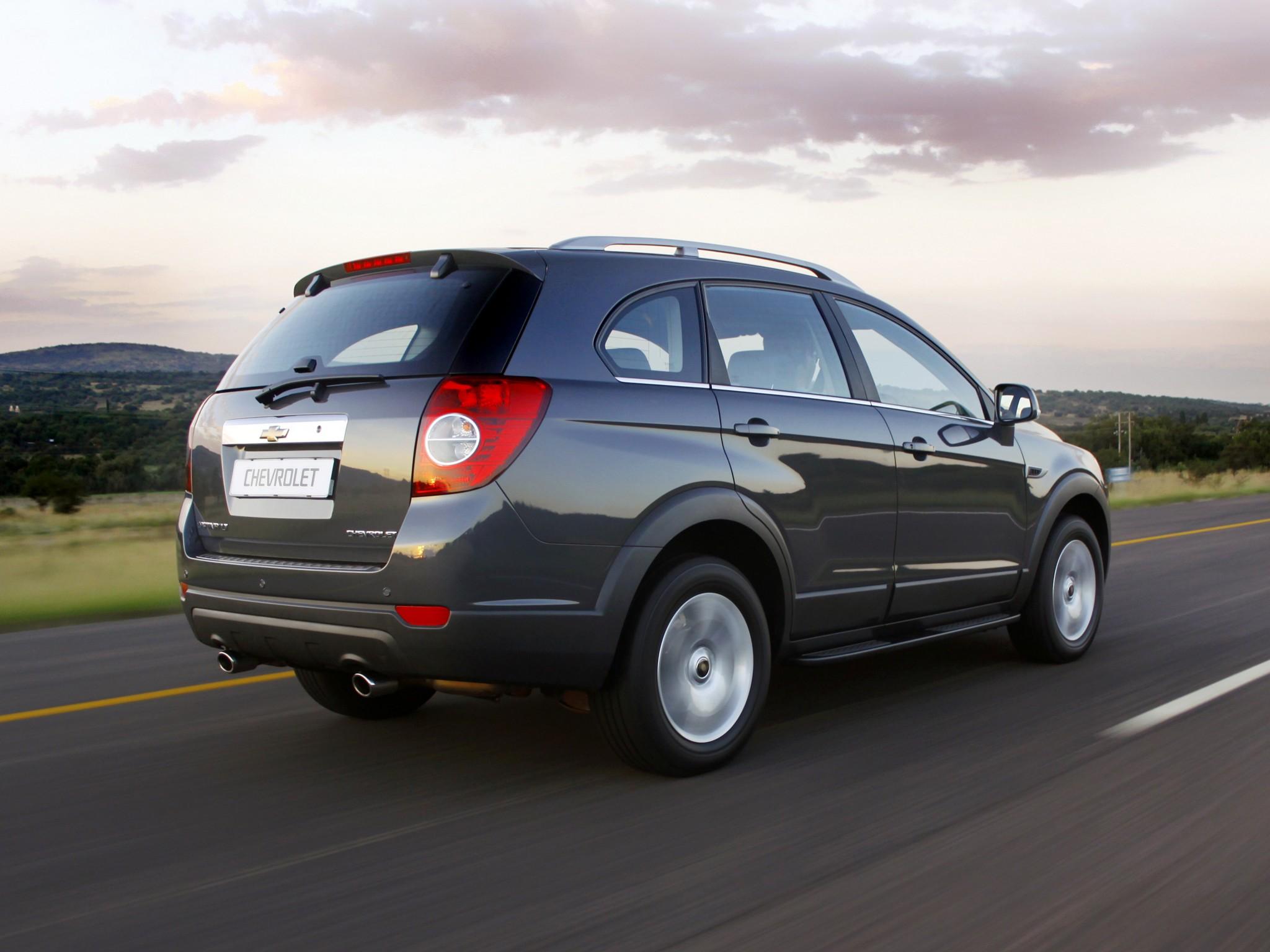 Chevrolet Captiva 2011 2012 2013 2014 2015 2016