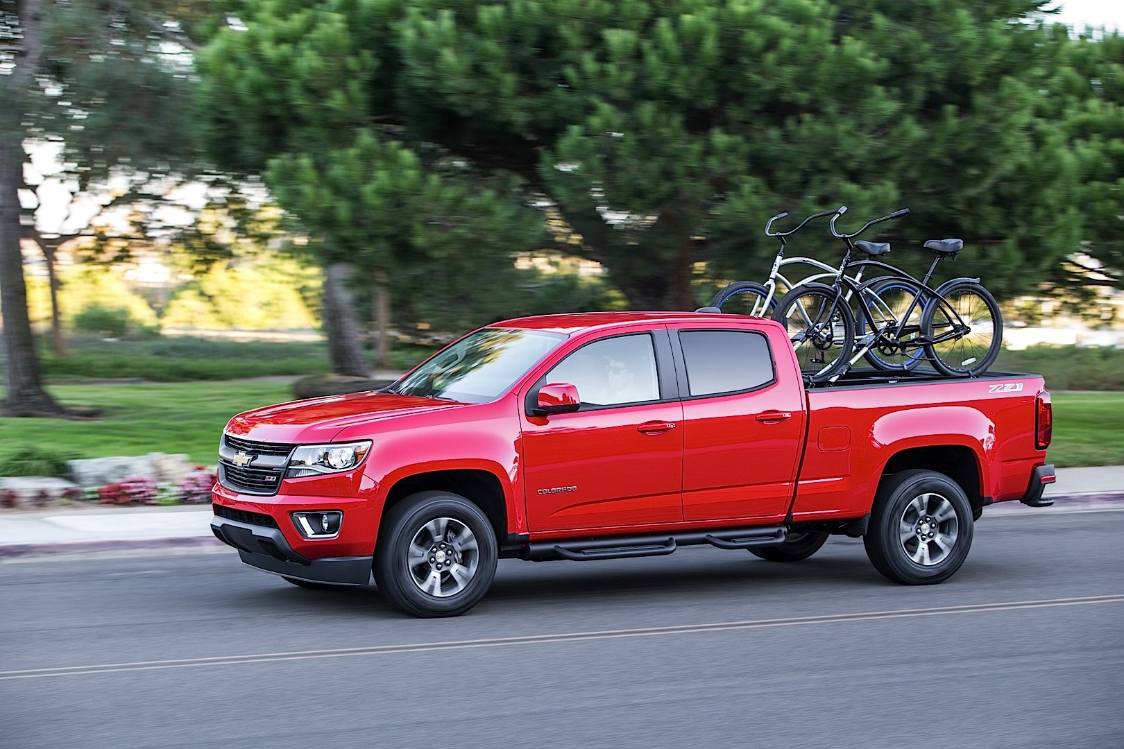 Chevrolet Colorado Crew Cab on 2015 chevy colorado extended cab interior