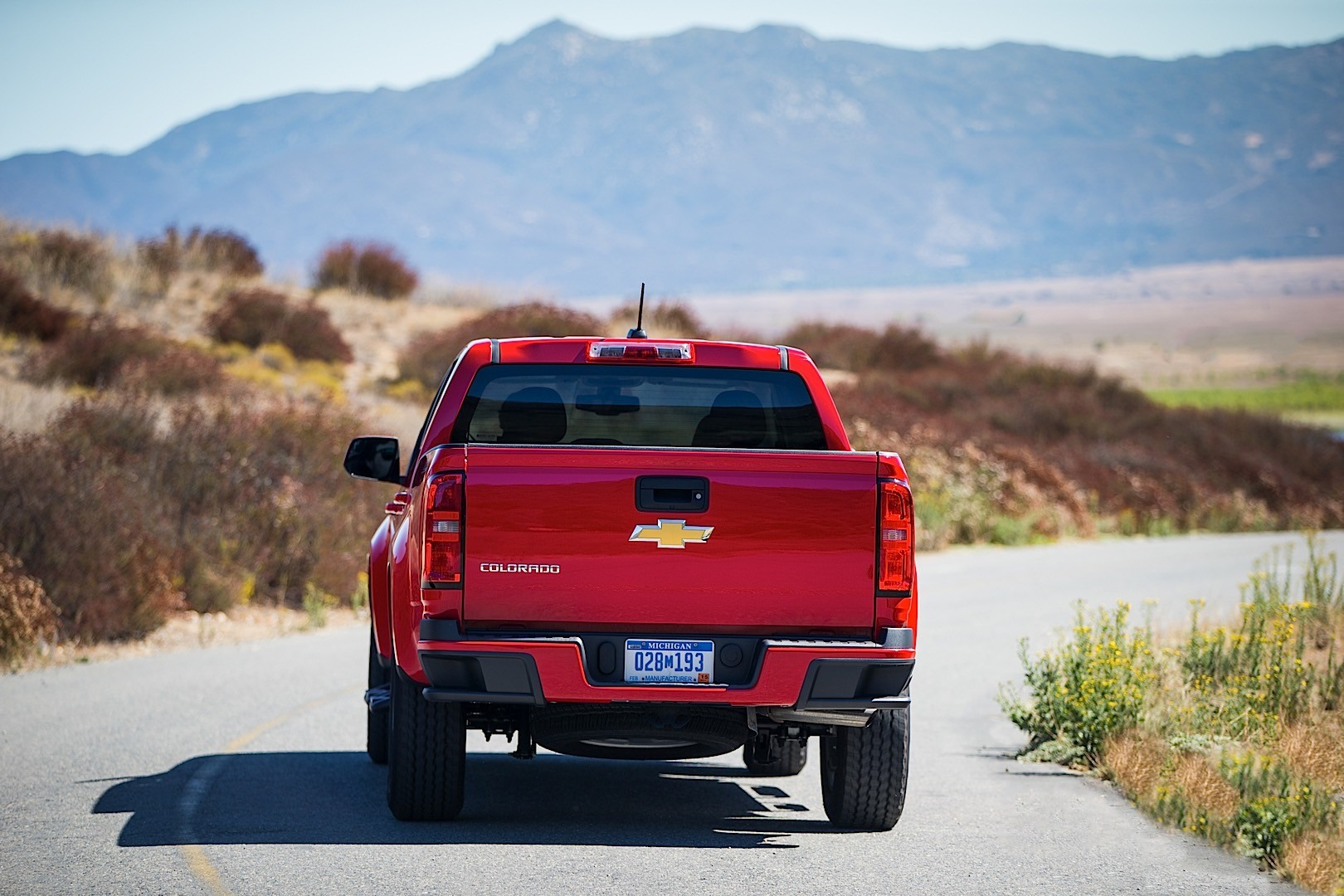 CHEVROLET Colorado Crew Cab specs - 2015, 2016, 2017, 2018 ...